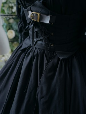 +Jeanne d'Arc+ Gothic Dark Military Cape One-piece 135