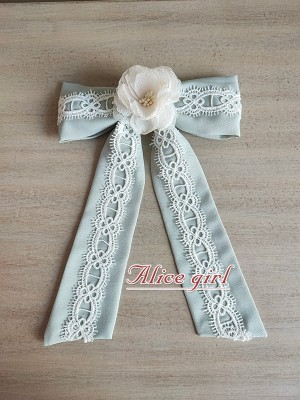 Alice Girl - When Camellia Blooms Bowknot