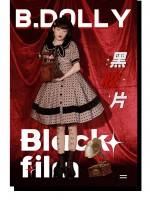 B.Dolly - Black Film Retro One-piece