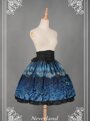 Butterfly Cemetery Skirt