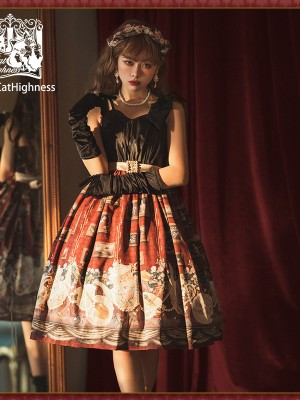 Cat Highness - Ceylon Gothic Jumperskirt