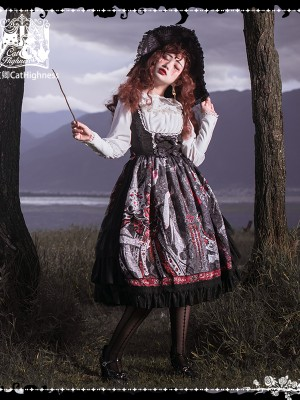 Cat Highness - Shape of Witch Type 1 Gothic Jumperskirt