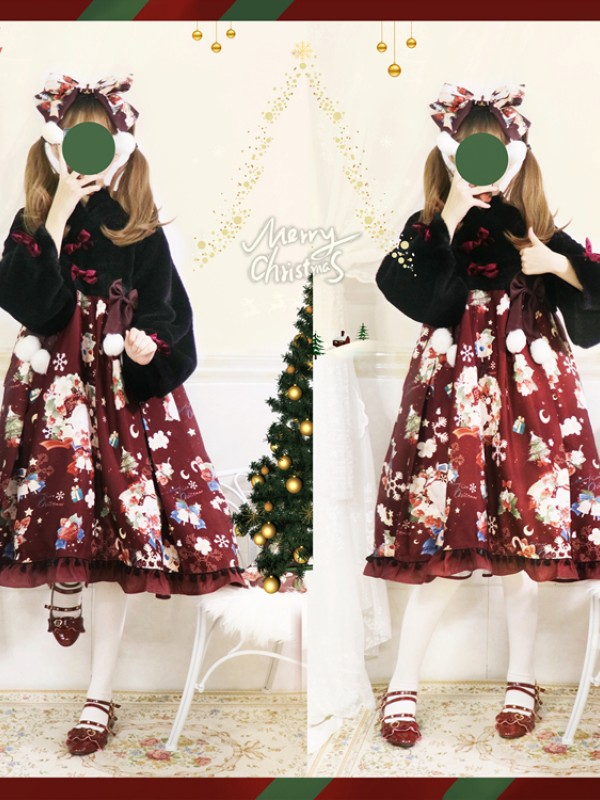 Christmas Sheep Winter Warm One-piece