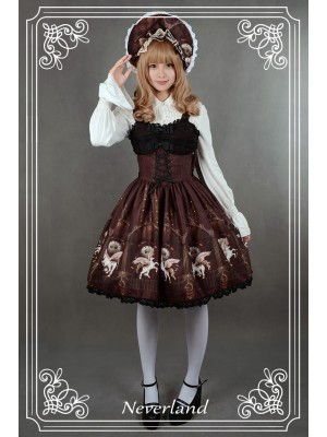 Chrono Guardian Voile Jumperskirt