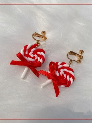 Cute Lollipop Ear Clips