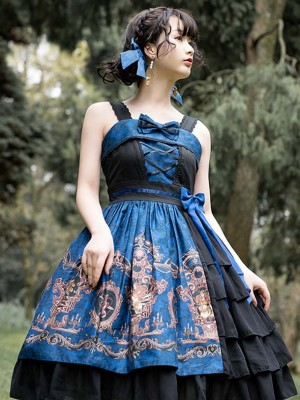 Magic Teaparty - Dark Siren Jumperskirt