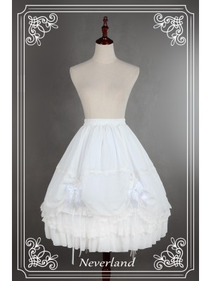 Double Drawstring Long Petticoat