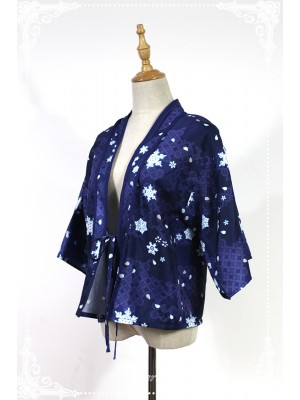 Haunted Night - Snow Woman Haori