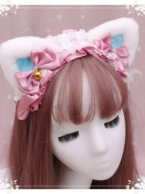 Lace Cat Ear Lolita KC
