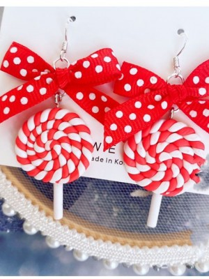 Lolipop Sweet Lolita Earrings