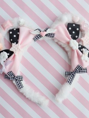 Lovely Sweet Lolita Bear Ears KC