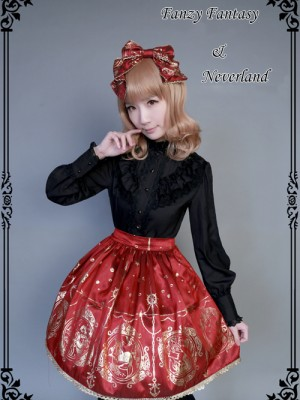 Mermaid Song Normal Waist Skirt