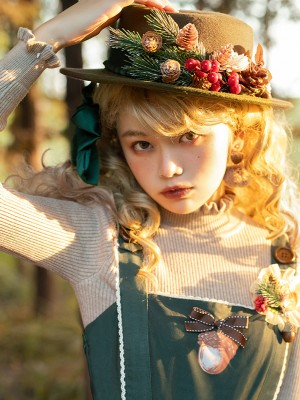 Miss Point - Letter of Autumn Mini Top Hat