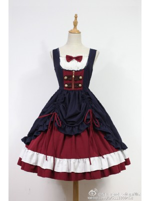 Classic Snow White Jumperskirt Lolita Fashion Dress JSK