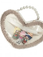 Sweat-heart Two-ways Ita Bag