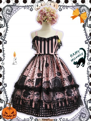Witch Kitty Gothic Halloween Jumperskirt