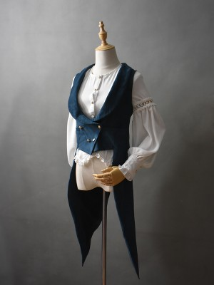 +Romantic Dream+  Retro Gothic Vest 002