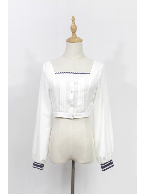 Morning Star Idol Campus Long Sleeve Blouse