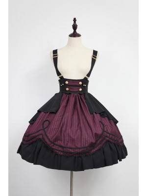 Morning Star Idol Campus Suspender Skirt