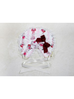 Strawberry Rabbit Bonnet